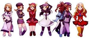 Rating: Safe Score: 63 Tags: ankea_(a-ramo-do) blue_(pokemon) cosplay group haruka_(pokemon) hikari_(pokemon) kotone_(pokemon) mei_(pokemon) pokemon serena_(pokemon) touko_(pokemon) uniform User: FormX