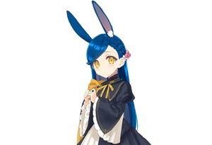 Rating: Safe Score: 36 Tags: animal_ears blue_hair braids bunny_ears bunnygirl cape dress honzuki_no_gekokujou hoodie long_hair myne ribbons rimo white yellow_eyes User: otaku_emmy