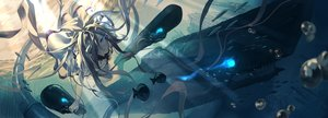 Rating: Safe Score: 60 Tags: animal anthropomorphism fish fujita_(condor) jpeg_artifacts kantai_collection submarine_hime underwater water User: BattlequeenYume
