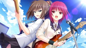 Rating: Safe Score: 40 Tags: 2girls angel_beats! game_cg hisako iwasawa_masami na-ga User: Tensa
