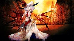 Rating: Safe Score: 39 Tags: moon remilia_scarlet touhou vampire wings yoshioka_yoshiko User: FormX