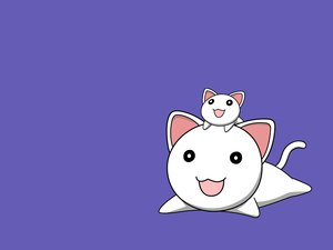 Rating: Safe Score: 7 Tags: animal azumanga_daioh cat nekokoneko purple vector User: 秀悟
