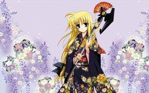 Rating: Safe Score: 47 Tags: blonde_hair fate_testarossa flowers japanese_clothes kimono long_hair mahou_shoujo_lyrical_nanoha mahou_shoujo_lyrical_nanoha_strikers red_eyes User: pantu