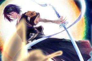 Rating: Safe Score: 116 Tags: bleach katana kuchiki_rukia sword weapon User: HawthorneKitty