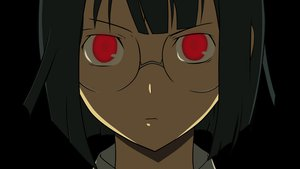 Rating: Safe Score: 10 Tags: black_hair close durarara!! glasses red_eyes sonohara_anri transparent vector User: grummi92