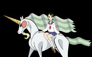 Rating: Safe Score: 3 Tags: animal fuura_kafuka horse sayonara_zetsubou_sensei transparent unicorn User: alphamai1300