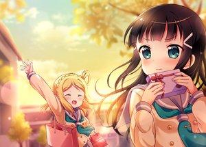Rating: Safe Score: 28 Tags: 2girls kurosawa_dia love_live!_school_idol_project love_live!_sunshine!! ohara_mari pipette1223 valentine User: RyuZU