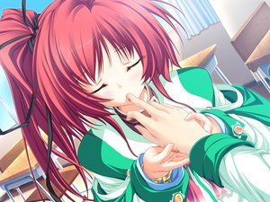 Rating: Safe Score: 40 Tags: game_cg magus_tale ponytail red_hair school_uniform seera_finis_victoria tenmaso whirlpool User: Oyashiro-sama