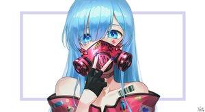 Rating: Safe Score: 98 Tags: aqua_eyes aqua_hair close gloves mask rem_(re:zero) re:zero_kara_hajimeru_isekai_seikatsu signed tattoo xiho_(xi_ho_) User: BattlequeenYume