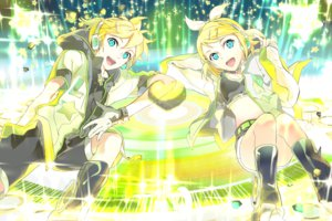 Rating: Safe Score: 39 Tags: 119 kagamine_len kagamine_rin vocaloid User: FormX