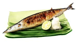 Rating: Safe Score: 45 Tags: animal fish food fruit lammy_(artist) nobody original white User: otaku_emmy