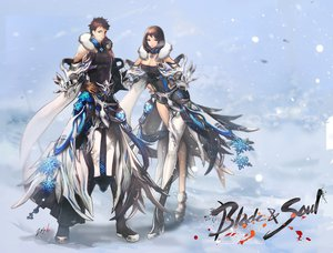 Rating: Safe Score: 152 Tags: blade_&_soul breasts cleavage snow zis User: FormX