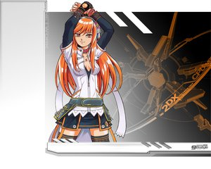 Rating: Safe Score: 28 Tags: beatmania beatmania_iidx headphones orange_hair umegiri_iroha User: Oyashiro-sama