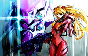Rating: Safe Score: 129 Tags: blue_eyes bodysuit eva-02 eyepatch gun jittsu long_hair mecha neon_genesis_evangelion orange_hair skintight soryu_asuka_langley weapon User: Dust
