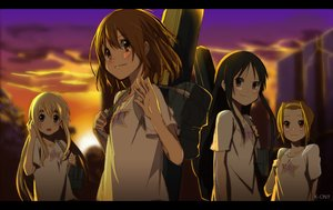 Rating: Safe Score: 38 Tags: akiyama_mio black_hair blonde_hair brown_eyes brown_hair group headband hirasawa_yui instrument k-on! kotobuki_tsumugi long_hair sunset tagme_(artist) tainaka_ritsu tears waifu2x User: RyuZU