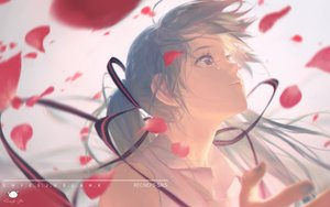 Rating: Safe Score: 6 Tags: blue_hair hatsune_miku long_hair petals signed spencer_sais tears twintails vocaloid watermark User: RyuZU