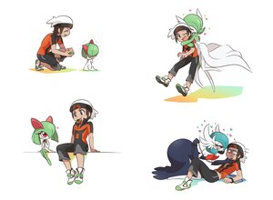 Rating: Safe Score: 154 Tags: bano_akira blush bondage brown_eyes brown_hair chain food gardevoir hat heart hug kirlia male mega_gardevoir pokemon ralts red_eyes shackles short_hair yuuki_(pokemon) User: mattiasc02