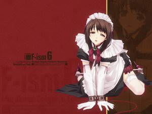 Rating: Safe Score: 83 Tags: bondage f-ism maid murakami_suigun red User: Oyashiro-sama