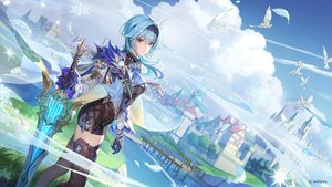 Rating: Safe Score: 107 Tags: animal bird building eula_lawrence genshin_impact landscape scenic sword tagme_(artist) water weapon windmill User: BattlequeenYume