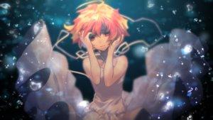 Rating: Safe Score: 53 Tags: dress matsuda_toki orange_eyes orange_hair shiine_ama short_hair underwater utau water User: FormX