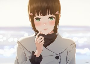Rating: Safe Score: 27 Tags: black_hair blush close green_eyes kurosawa_dia love_live!_school_idol_project love_live!_sunshine!! papi_(papiron100) signed User: sadodere-chan