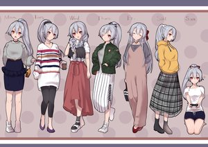 Rating: Safe Score: 36 Tags: barefoot boots bow braids choker dress drink fate/grand_order fate_(series) game_console gray_hair hane_yuki hoodie long_hair necklace ponytail red_eyes shorts skirt socks tomoe_gozen wink wristwear User: otaku_emmy