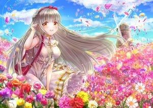 Rating: Safe Score: 25 Tags: flowers rouche_(shironeko_project) shironeko_project tamaso windmill User: BattlequeenYume