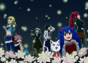 Rating: Safe Score: 7 Tags: animal blonde_hair blue_hair bluesnowcat bow breast_hold breasts cat charle_(fairy_tail) dress erza_scarlet fairy_tail flowers gray_fullbuster group happy_(fairy_tail) hat juvia_loxar long_hair lucy_heartfilia male natsu_dragneel navel pantyhose pink_hair ponytail red_hair scarf short_hair skirt tattoo thighhighs twintails waifu2x wendy_marvell User: RyuZU