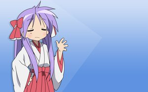 Rating: Safe Score: 1 Tags: blue hiiragi_kagami japanese_clothes lucky_star miko User: Oyashiro-sama