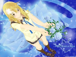 Rating: Safe Score: 12 Tags: air_gear blonde_hair flowers rose sumeragi_kururu User: 秀悟