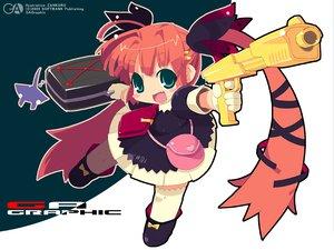 Rating: Safe Score: 7 Tags: gagraphic gun logo watermark weapon zankuro User: Oyashiro-sama