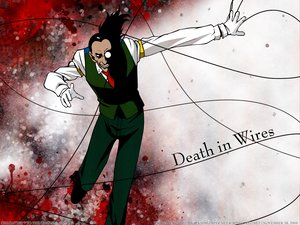 Rating: Safe Score: 5 Tags: all_male black_hair gloves hellsing long_hair male ponytail tie walter_c_dornez User: Oyashiro-sama