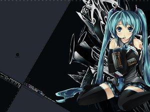 Rating: Safe Score: 53 Tags: hatsune_miku twintails vocaloid User: otaku#1