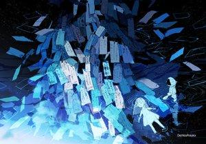 Rating: Safe Score: 33 Tags: blue demizu_posuka dress loli long_hair original paper polychromatic summer_dress translation_request water watermark User: otaku_emmy