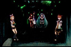 Rating: Safe Score: 16 Tags: dark group hatsune_miku kagamine_len kagamine_rin kaito male meiko tagme_(artist) vocaloid User: HawthorneKitty