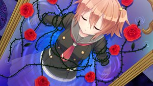 Rating: Safe Score: 27 Tags: aragaki_akira bondage flowers game_cg kamitsure_~7_no_nijou_fushigi~ magic mirror mizuki_kotora orange_hair rose school_uniform short_hair skirt water User: mattiasc02