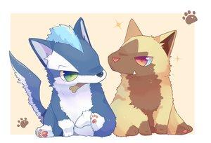 Rating: Safe Score: 11 Tags: animal dog fang green_eyes pokemon poochyena red_eyes tagme_(character) ushiinu User: otaku_emmy
