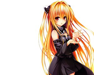 Rating: Safe Score: 252 Tags: blonde_hair golden_darkness long_hair petals red_eyes to_love_ru to_love_ru_darkness white yabuki_kentarou User: Wiresetc