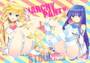 Rating: Safe Score: 127 Tags: nimame panty_&_stocking_with_garterbelt panty_(character) stocking_(character) User: HawthorneKitty