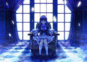 Rating: Safe Score: 136 Tags: blue frederica_bernkastel goth-loli kneehighs lolita_fashion monochrome moonknives umineko_no_naku_koro_ni User: gnarf1975