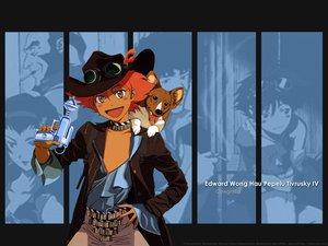 Rating: Safe Score: 9 Tags: animal cowboy_bebop cowgirl dog edward_wong_hau_pepelu_tivrusky_iv ein_(cowboy_bebop) User: Oyashiro-sama