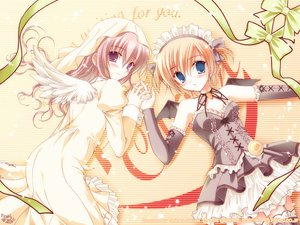 Rating: Safe Score: 26 Tags: maid pia_carrot wings User: Oyashiro-sama