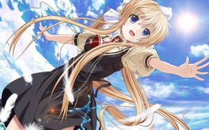 Rating: Safe Score: 100 Tags: air kamio_misuzu yuzuki_karin User: RyuZU