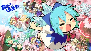 Rating: Safe Score: 29 Tags: aqua_hair barefoot blonde_hair bow brown_hair camera cherry_blossoms cirno clownpiece daiyousei dress drink fairy flowers food fujiwara_no_mokou green_eyes green_hair group kamishirasawa_keine lily_white long_hair luna_child momoyama_nozomu mystia_lorelei petals pink_eyes pink_hair rumia shameimaru_aya short_hair star_sapphire sunny_milk touhou umbrella white_hair wings User: RyuZU