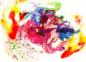 Rating: Safe Score: 27 Tags: animal fish guitar instrument japanese_clothes original suwako_(nakasuwa) User: FormX