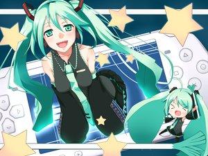 Rating: Safe Score: 26 Tags: game_console hatsune_miku koyoi_mitsuki project_diva vocaloid User: anaraquelk2