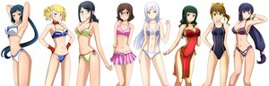 Rating: Safe Score: 177 Tags: aila_jyrkiainen aqua_eyes bikini black_hair blonde_hair blue_eyes blue_hair blush breasts brown_eyes brown_hair choker cleavage glasses gloves gray_eyes green_eyes green_hair group gundam_build_fighters gundam_(series) headband iori_rinko kenken kousaka_china long_hair mihoshi_(gundam_bf) misaki_(gundam_bf) mobile_suit_gundam navel ootake_akemi ponytail purple_eyes purple_hair samejima_yukari see_through short_hair swimsuit twintails white white_hair wristwear yajima_caroline User: Glublock