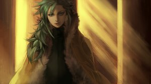 Rating: Safe Score: 44 Tags: all_male green_eyes green_hair male n pokemon yohi User: HawthorneKitty