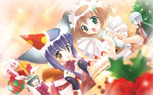 Rating: Safe Score: 7 Tags: animal_ears apron blush bow brown_hair cake chikage_(tail_tale) food fruit gloves gray_hair green_eyes hat iori_(tail_tale) japanese_clothes koma_(tail_tale) long_hair min purple_hair ribbons scarf short_hair strawberry tail_tale yellow_eyes User: 秀悟