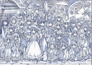 Rating: Safe Score: 65 Tags: alice_margatroid animal_ears blush bow braids bunnygirl catgirl chain chen cirno dress drink fairy flandre_scarlet foxgirl glasses group hakurei_reimu hat headband headdress hong_meiling horns houraisan_kaguya ibuki_suika inaba_tewi instrument izayoi_sakuya japanese_clothes kawashiro_nitori kirisame_marisa kochiya_sanae konpaku_youmu long_hair lunasa_prismriver lyrica_prismriver maid male merlin_prismriver miko monochrome morichika_rinnosuke moriya_suwako mystia_lorelei onozuka_komachi patchouli_knowledge reisen_udongein_inaba remilia_scarlet saigyouji_yuyuko scythe shikieiki_yamaxanadu short_hair sketch socks touhou twintails vampire weapon wings witch yagokoro_eirin yakumo_ran yakumo_yukari yasaka_kanako zaxzero User: Kumacuda